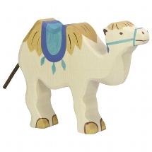 Camel with saddle