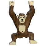 Chimpanzee, standing