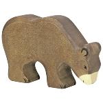 Brown bear, feeding
