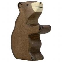 Brown bear, small, sitting