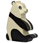 Panda bear, sitting