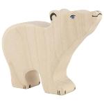 Polar bear, small, head raised