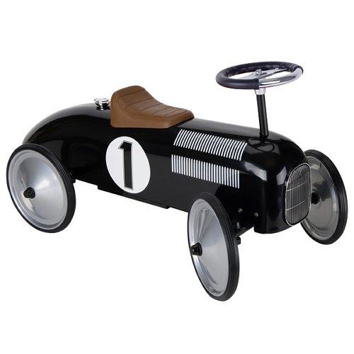 Ride-on vehicle black
