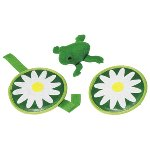 Frog, velcro catch game