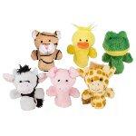 Fingerpuppet set animals