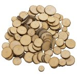 Wooden tree slices