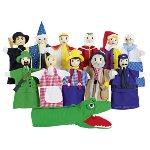 Assortment of hand puppets - Set 2