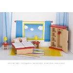 Furniture for flexible puppets, bedroom, goki basic.