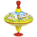 """Humming top with wooden handle """"Hans in luck"""""""