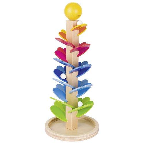 Pagoda marble game
