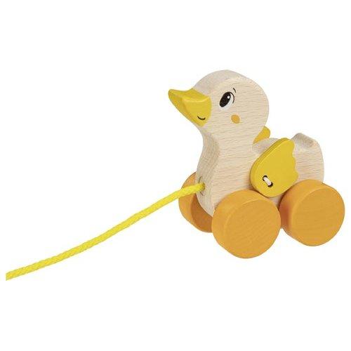 Pull-along animal duck