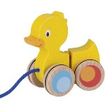 Duck, pull-along animal