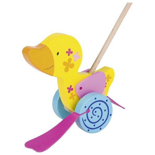 Duck, push-along animal, Susibelle