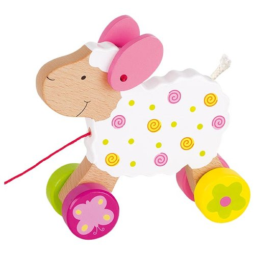 Pull-along animal, sheep Suse, Susibelle