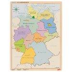 Schichtenpuzzle Deutschland