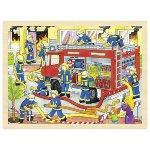 Einlegepuzzle Feuerwehreinsatz