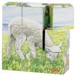 Farm animals, cube puzzle