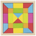 Mosaic puzzle rainbow