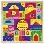 Mosaic puzzle, 1001 nights