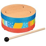 Wood tongue drum