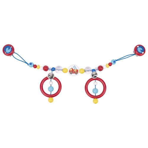 Pram chain fire engine with clips