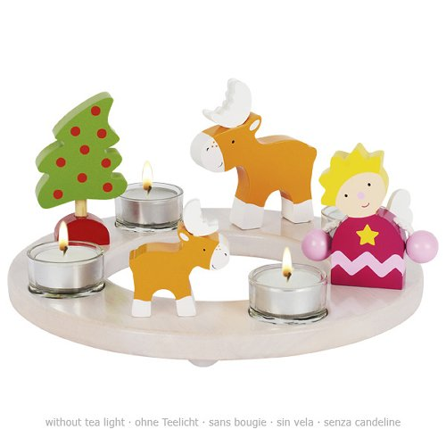 Candle ring for Easter and Christmas