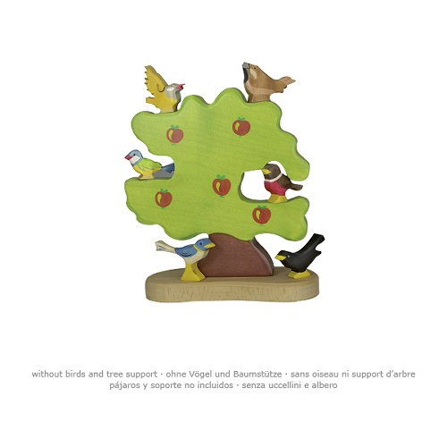 Apple tree for birds