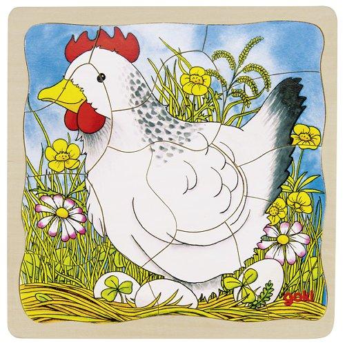 Puzzle chicken